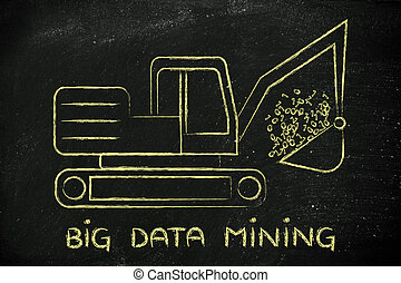 big data mining: funny digger extracting binary code