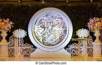 Big decorated clock