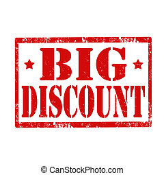 Big Discount-stamp