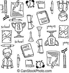 Big doodles element school education