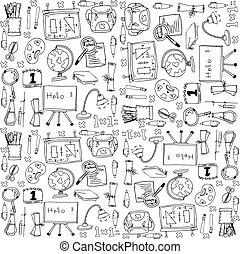 Big doodles school education