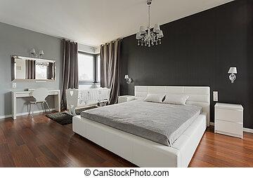 Big double bed - Big comfortable double bed in elegant...