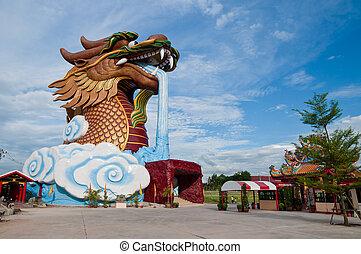 Big Dragon Statue