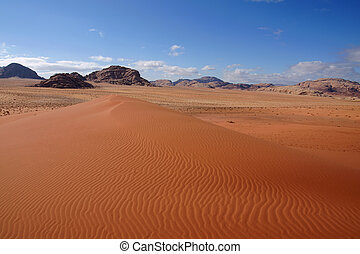 Big dune in Wadi Rum