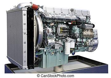 Big engine angle