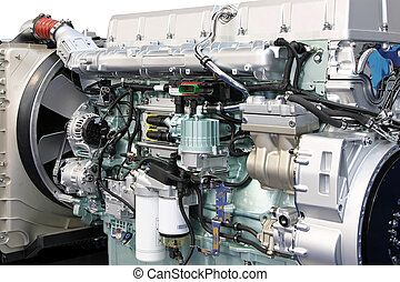 Big engine detail
