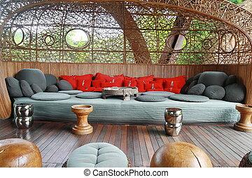 big fabric sofa, Tibet traditional