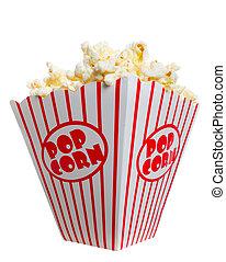 Big Fat Box of Popcorn - A big, fat box of theater popcorn. ...
