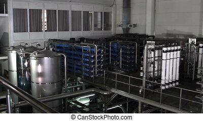 filter system at a large beer company - Big filter system at...