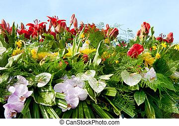 Big flower arrangement