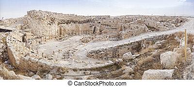 Herodium, Israel - Big fortress of Herod the Great called ...