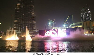 Big Fountain Show
