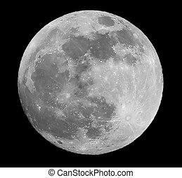 Big full moon the crater in the center is called Copernicus and one in the lower right corner is Tycho Crater