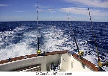 Big game obat fishing in deep sea