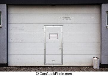 Big Garage Metal Door