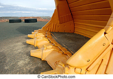 Big gold mine shovel - Big shovel, Super Pit gold mine,...