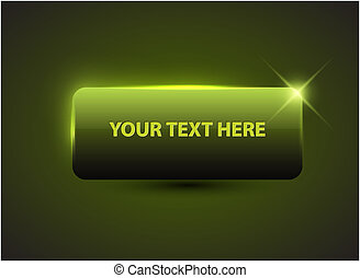 Big green button with sample text