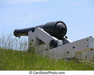 big gun - civil war cannon