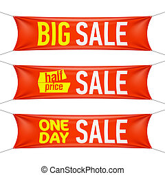 Big, half price, one day sale - Big, half price and one day...