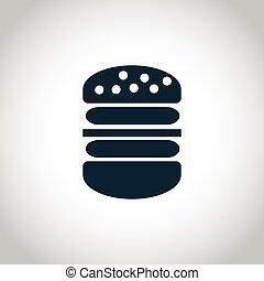 Big hamburger  icon