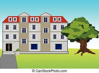 Big house on glade