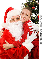 Big Hug for Santa