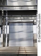 big industry garage door