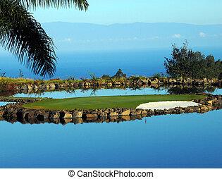 Big Island Golfing - Golf course on the Big Island of Hawaii...