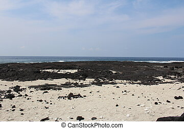 Big Island Hawaii Beach Landscape