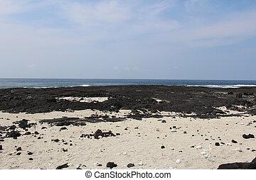 Big Island Hawaii Beach Landscape
