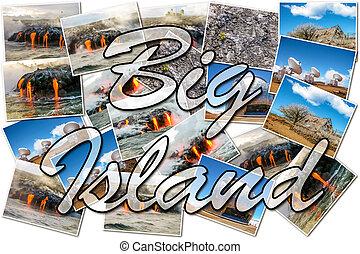 Big island Hawaii collage