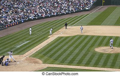 Big Lead on 3rd - baseball game