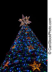 Big Lighten up Christmas tree