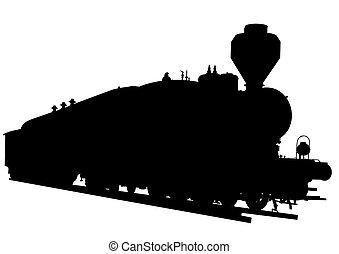 Big locomotive two