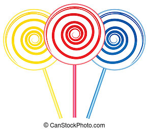 Big lollipops
