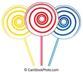 Big lollipops