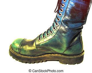 big military boot