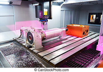 Big milling machine with processing part