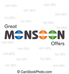 Big Monsoon sale banner