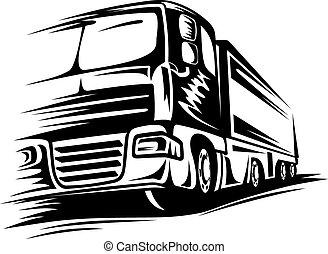 Big moving truck