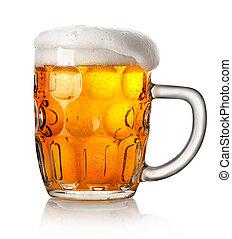 Big mug of beer