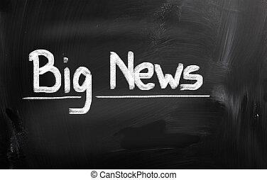 Big News Concept