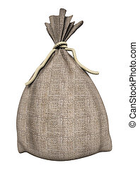 Big old sackcloth bag