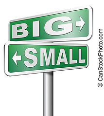 big or small size matters