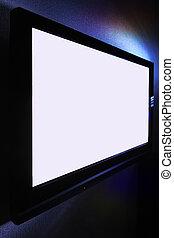 Big pasma HDTV screen