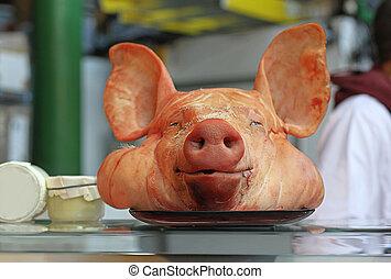 Big Pig Head