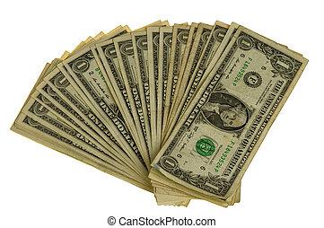 big pile of dollars