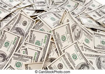 big pile of money
