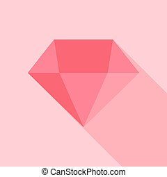 Big pink diamond