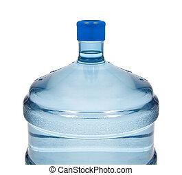 big plastic bottle for potable water